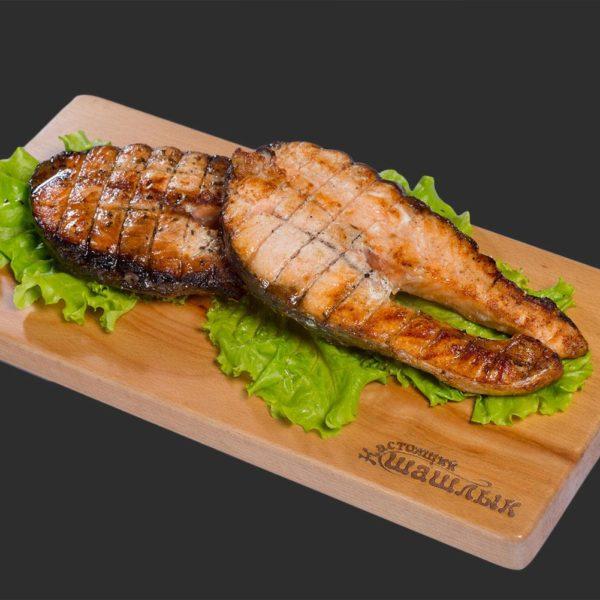 Риба на мангалі